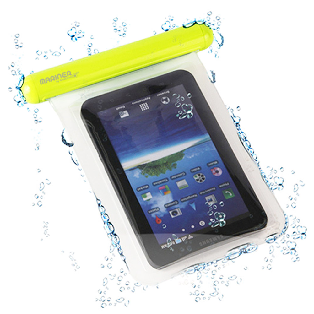 "Color Waterproof Underwater Durable Pouch Bag Pack Case Cover For 7.7"" Tablets"